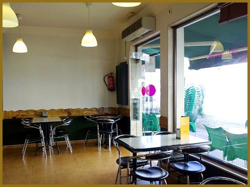 Cafetería Heladeria La Ría en Isla Cristina Huelva